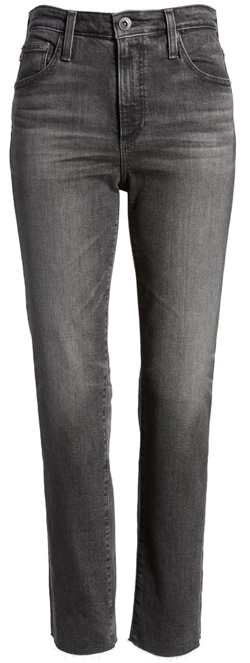 AG high waist jeans | 40plusstyle.com