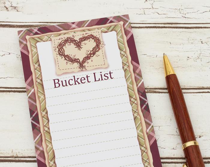 Join the 2020 bucket list challenge!