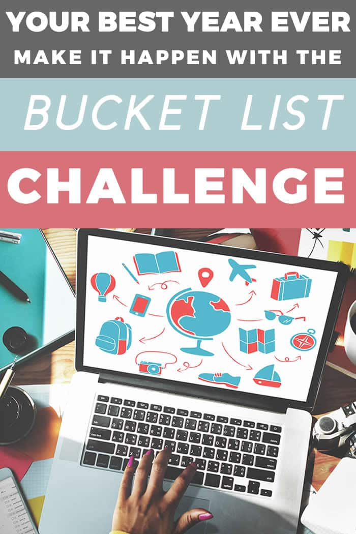 Want to have your best year ever? Make it happen with the 2020 bucket list challenge!