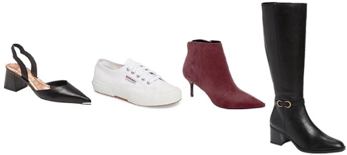 capsule wardrobe shoes | 40plusstyle.com