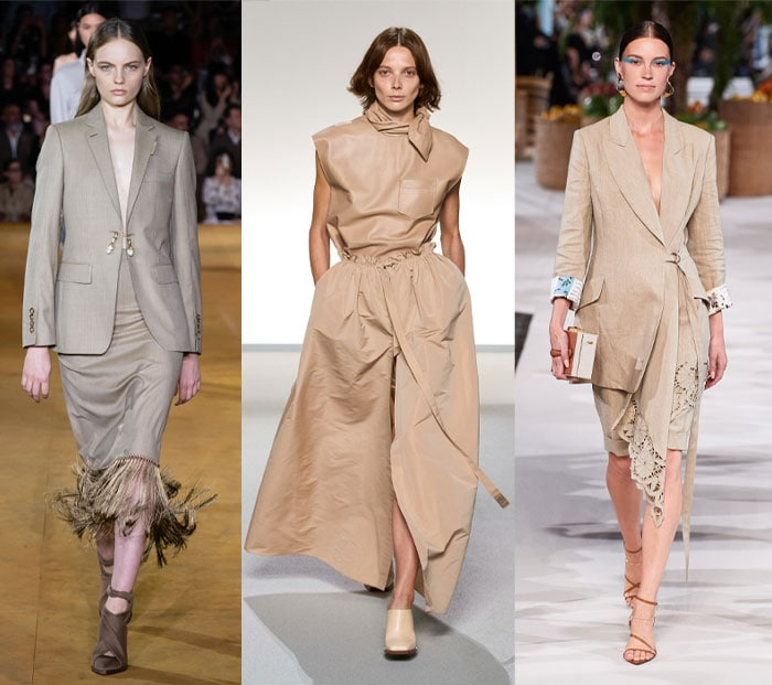beige is on trend right now | 40plusstyle.com