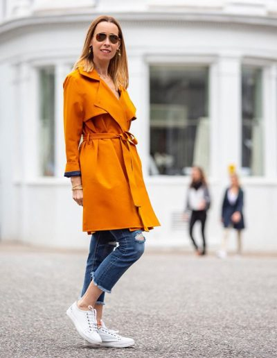 How to wear a trench coat and the best trench coats in stores now | 40plusstyle.com