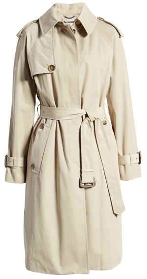 London Fog Heritage Water Repellent Trench Coat   40plusstyle.com