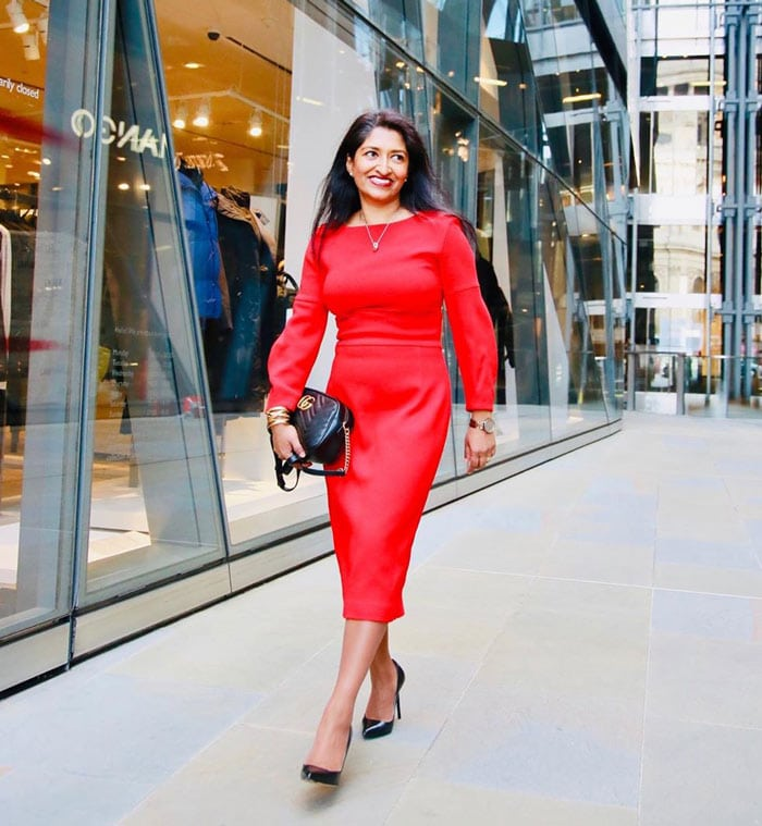 how to dress for valentines day - red dress | 40plusstyle.com