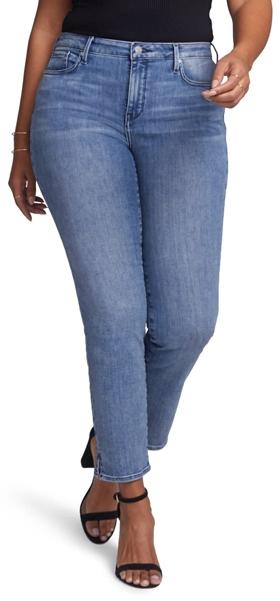 NYDJ Slim Ankle Straight Leg Jeans