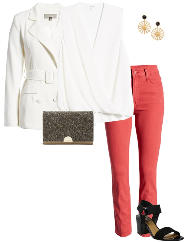 how to dress for valentines day in red and white | 40plusstyle.com