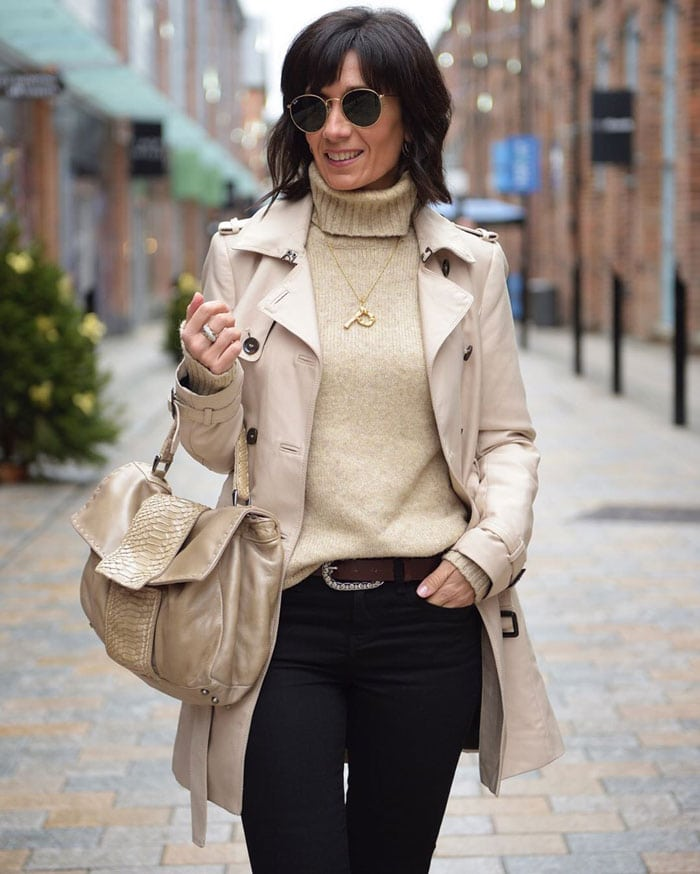 styling trench coats | 40plusstyle.com