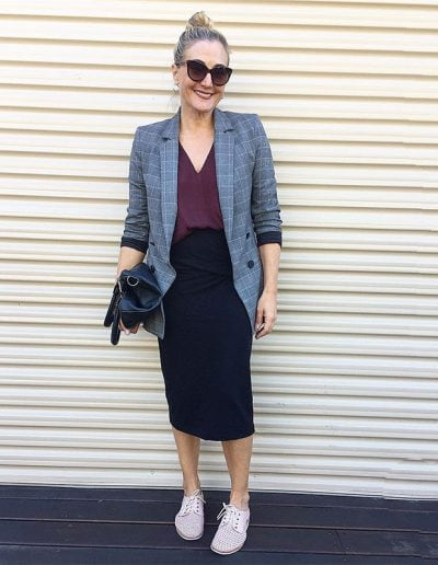Black skirt outfit ideas: One skirt, 9 outfits | 40plusstyle.com