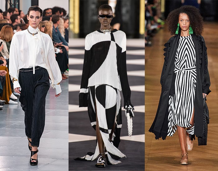 black and white looks for women over 40   40plusstyle.com