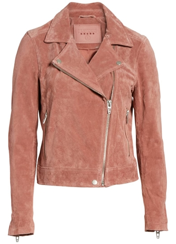 Norstrom Sale: Blank NYC suede moto jacket | 40plusstyle.com