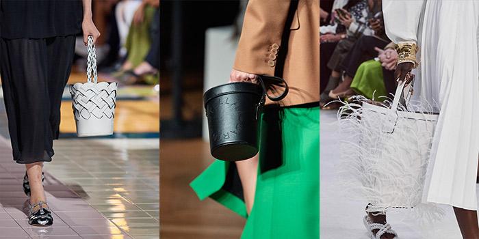 handbag trends 2020 - bucket bags | 40plusstyle.com
