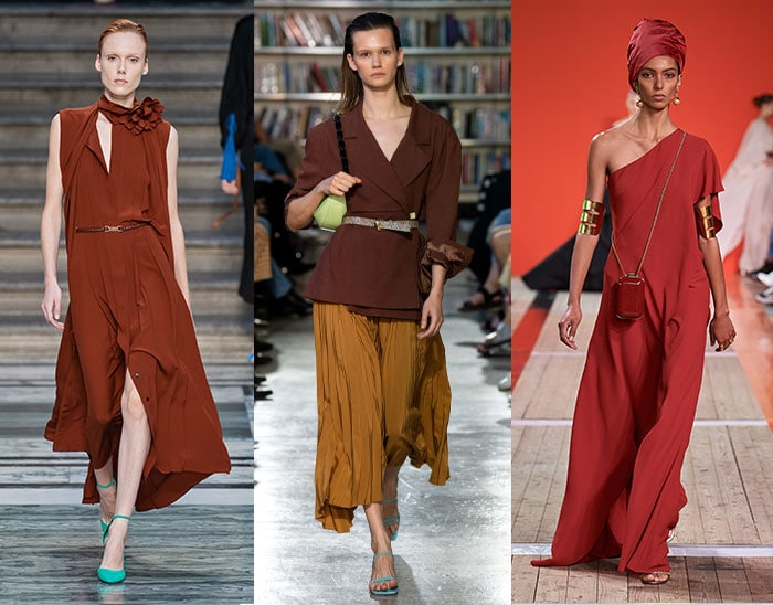 browns and burgundies are unexpected summer color choices   40plusstyle.com