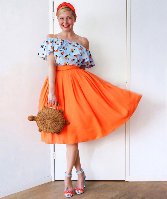 How to wear orange? 7 color combinations to get you started!