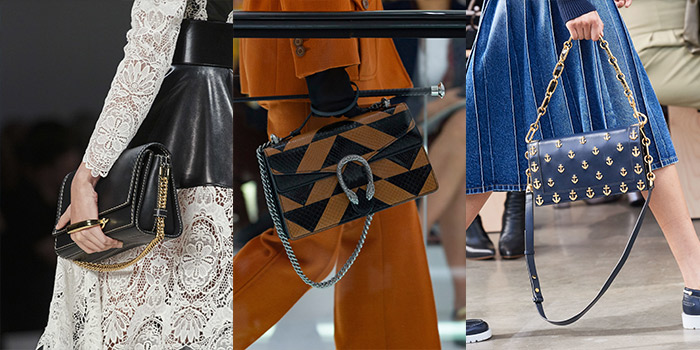 handbags with chain detailing for spring and summer 2020 | 40plusstyle.com