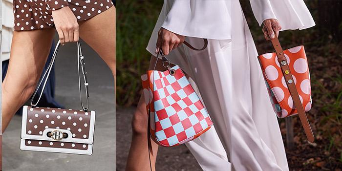 polka dot handbags | 40plusstyle.com
