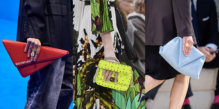 handbag trends 2020 - clutch bag styles | 40plusstyle.com
