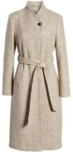 Classic clothes: Cole Haan Signature woven coat   40plusstyle.com