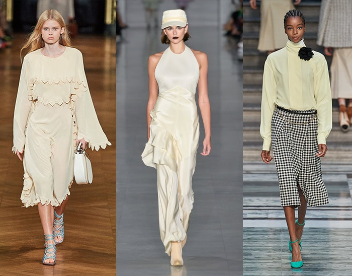pale, creamy yellow worn as a neutral | 40plusstyle.com