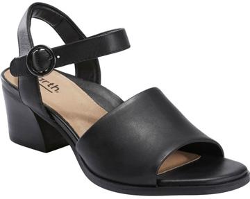 Earth 'Murano Haze' block heel sandal | 40plusstyle.com