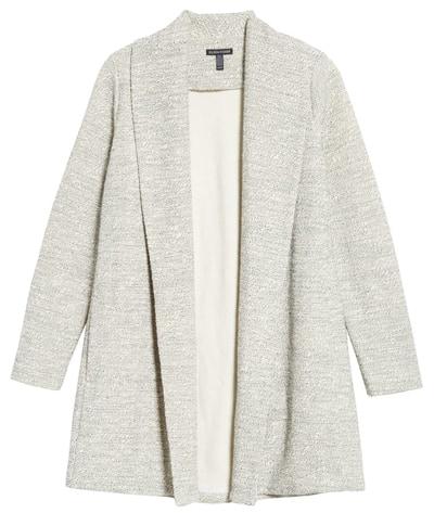 Nordstrom sale: Eileen Fisher shawl collar jacket   40plusstyle.com