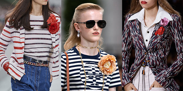 floral brooches for summer 2020 | 40plusstyle.com