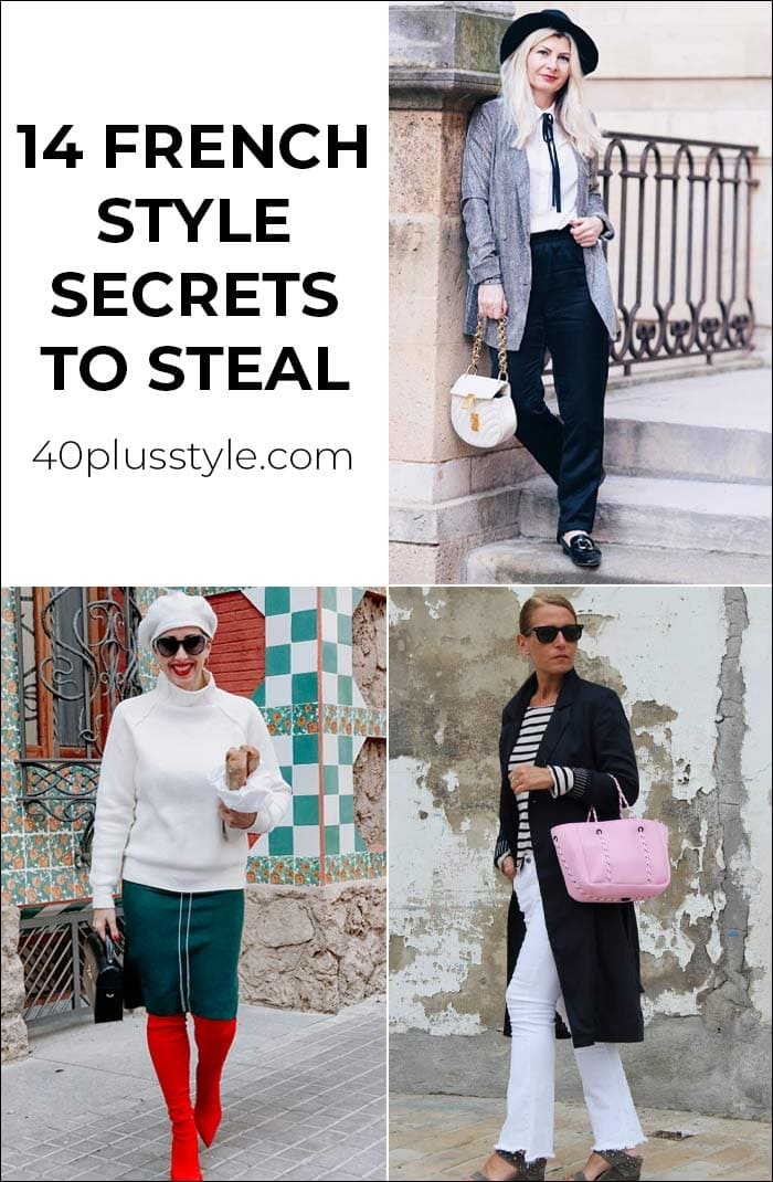 14 French style secrets to steal | 40plusstyle.com
