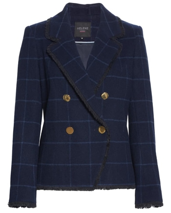 double breasted blazer | 40plusstyle.com