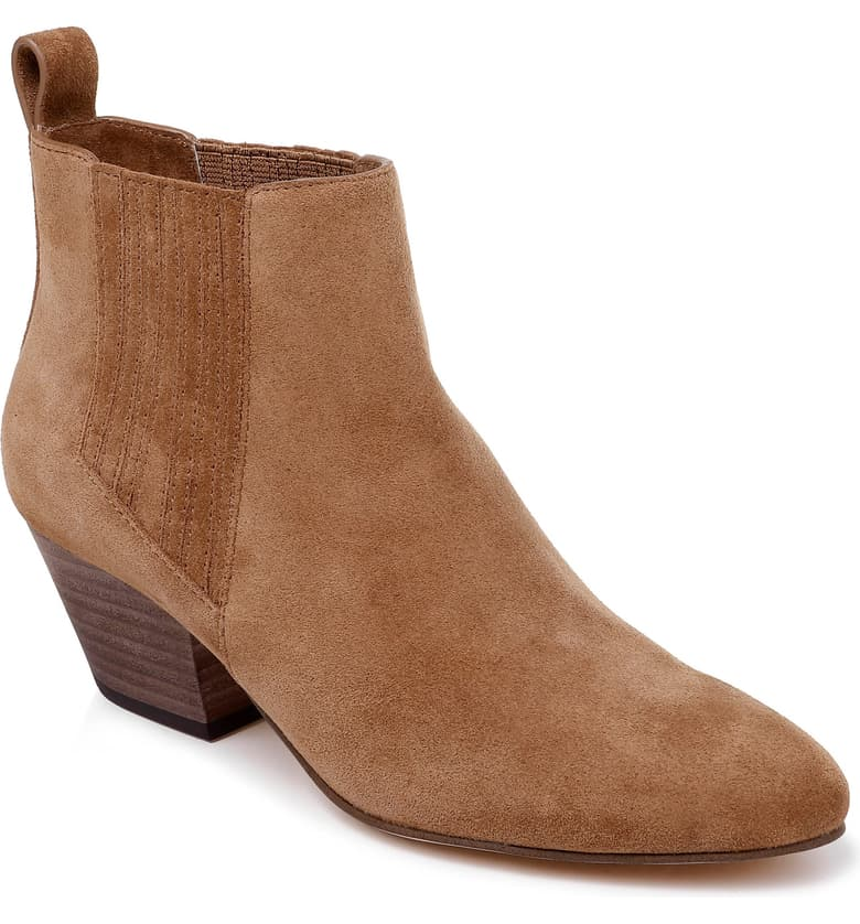 Classic clothes and shoes to buy in the Nordstrom sale - Splendid Henley bootie   40plusstyle.com