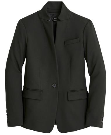 Classic clothes: J.Crew 4-season stretch blazer   40plusstyle.com