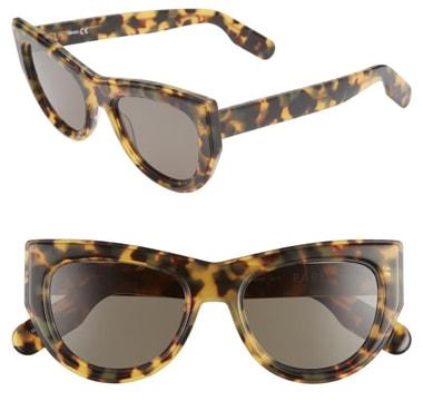 Kenzo cat eye sunglasses | 40plusstyle.com