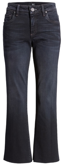 Classic clothes choices - KUT from the Kloth kick flare crop pants   40plusstyle.com
