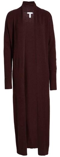 Leith Longline open cardigan | 40plusstyle.com