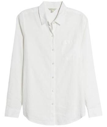 white shirt for women | 40plusstyle.com