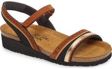 Naot 'Beverly' walking sandal | 40plusstyle.com