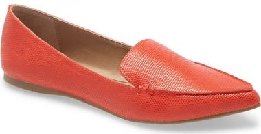 Steve Madden loafer flat | 40plusstyle.com