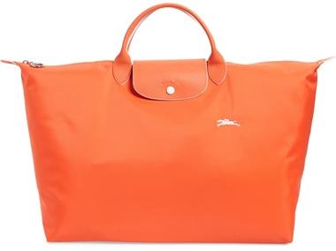 Longchamp tote | 40plusstyle.com