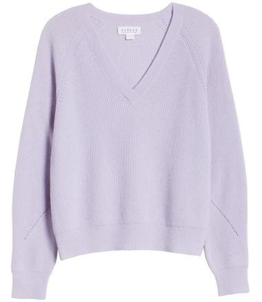 Velvet by Graham & Spencer wool & cashmere sweater | 40plusstyle.com