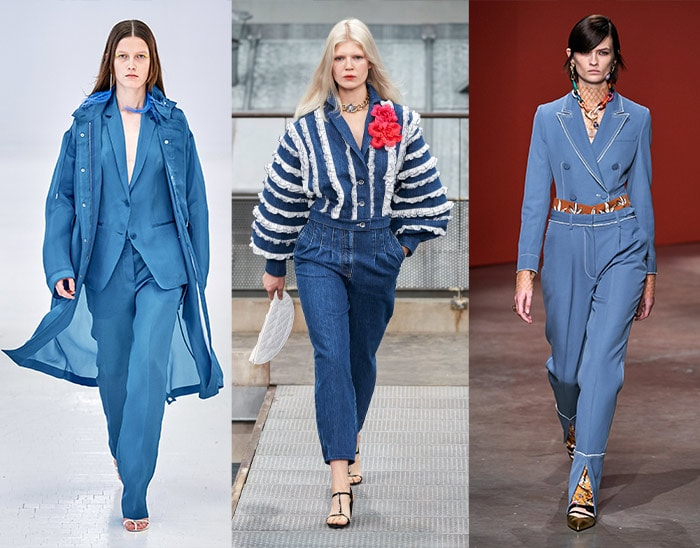 denim blue was one of the major summer color trends on the runways   40plusstyle.com