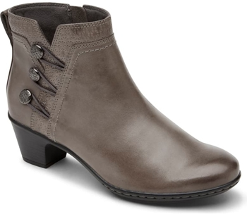 stylish boots with arch support - Rockport Cobb Hill 'Kailyn' bootie | 40plusstyle.com