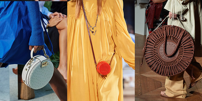 handbag trends 2020 - circle bag | 40plusstyle.com