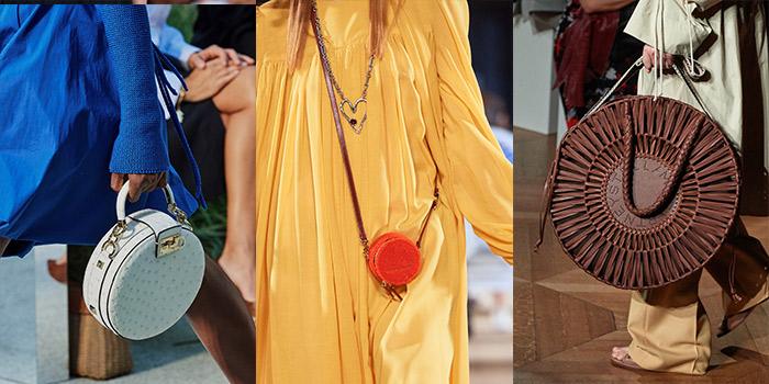 handbag trends 2020 - circle bag | 40plusstyle.com