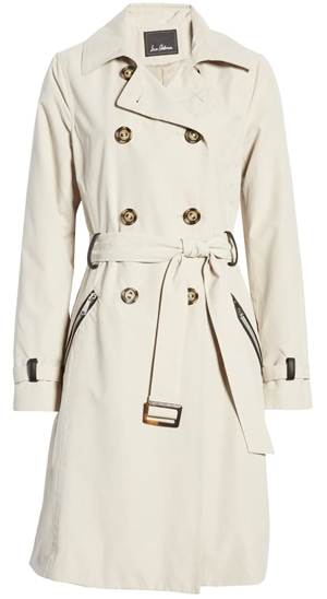 trench coat for women over 40 | 40plusstyle.com