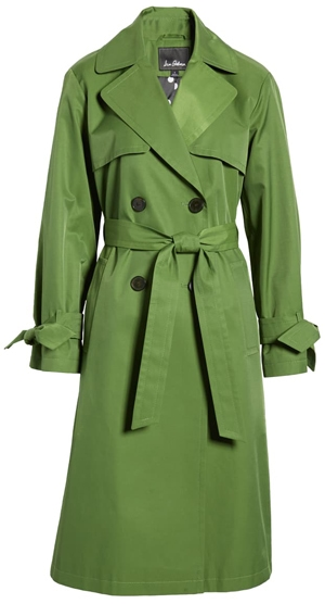 Sam Edelman double breasted trench coat | 40plusstyle.com