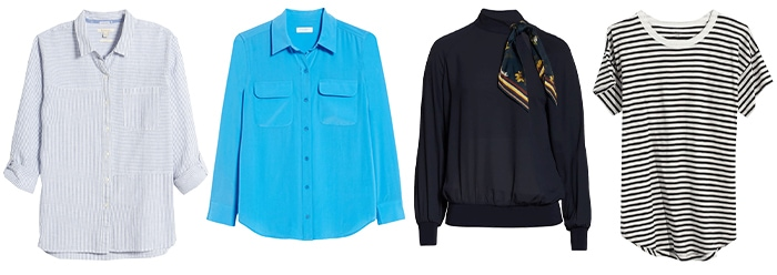 Tops for spring | 40plusstyle.com