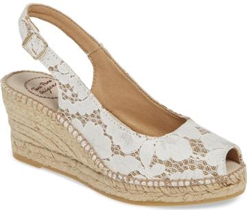Toni Pons slingback sandal | 40plusstyle.com