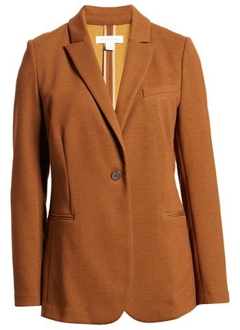 Treasure & Bond knit blazer | 40plusstyle.com