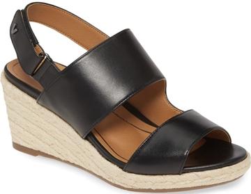 Shoes for plantar fasciitis - Vionic 'Brooke' wedge sandal | 40plusstyle.com
