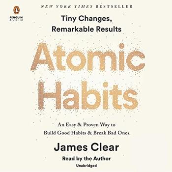 Atomic Habits: An Easy & Proven Way to Build Good Habits & Break Bad Ones (Audible, Amazon) | 40plusstyle.com