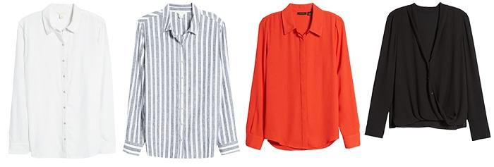 Basic clothing - shirts and blouses | 40plusstyle.com