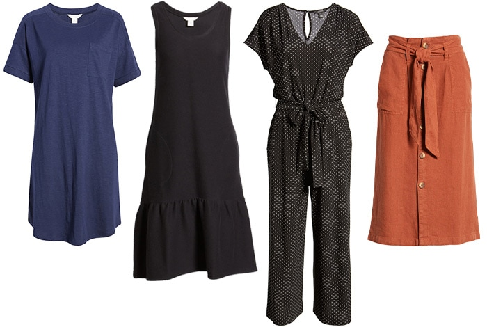 Basic dresses, jumpsuits and skirts | 40plusstyle.com